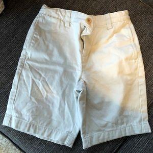 Vineyard Vines Boys Light Tan Shorts sz 7